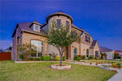 Frisco Single Family Home Active Contingent: 6580 Jamestown Road