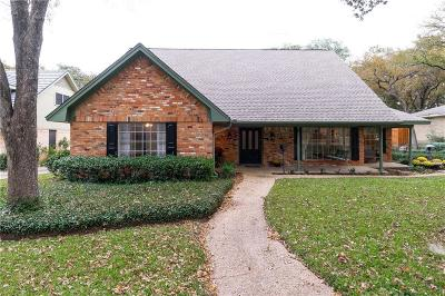 Irving Single Family Home Active Option Contract: 1524 Canyon Oaks Drive