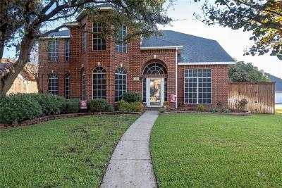 Rowlett Single Family Home Active Option Contract: 6014 Arden Court