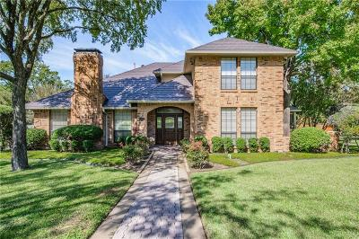 Grand Prairie Single Family Home Active Option Contract: 512 Estate Drive