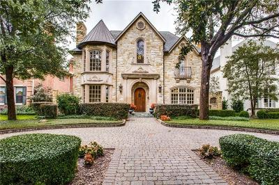 Highland Park, University Park Single Family Home For Sale: 3828 Hanover Street