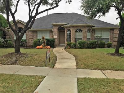 Frisco Single Family Home Active Option Contract: 11406 Sunrise Lane