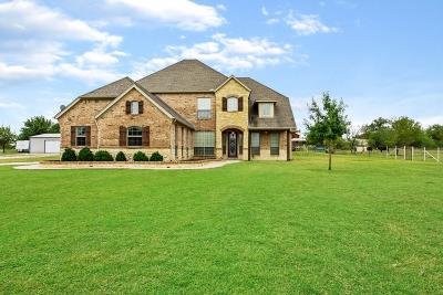 Rhome TX Single Family Home Active Option Contract: $585,000