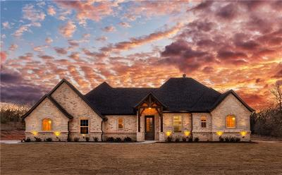 Azle Single Family Home For Sale: 605 Shady Pond Lane
