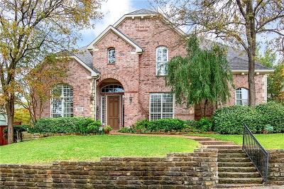 Allen Single Family Home For Sale: 1425 Greenbriar Drive