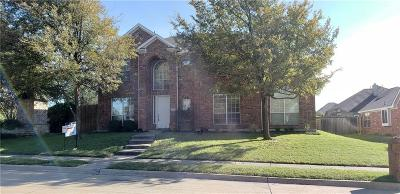 Allen Single Family Home For Sale: 801 Melinda Drive