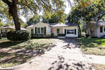 Arlington Single Family Home For Sale: 1102 W Tucker Boulevard