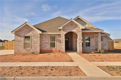 Abilene Single Family Home Active Contingent: 3410 Double Eagle