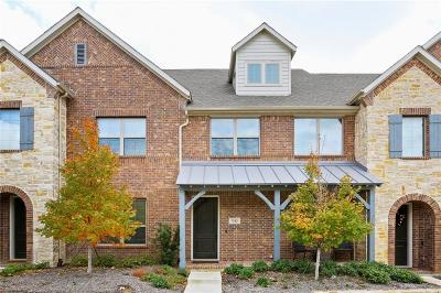 Mckinney Townhouse For Sale: 7113 Huckleberry Drive