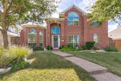 Frisco Single Family Home Active Option Contract: 9977 Bradford Grove Drive