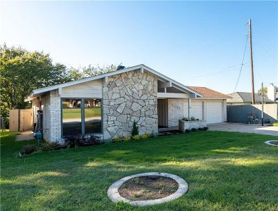 Irving Single Family Home Active Option Contract: 3435 Thrush Drive