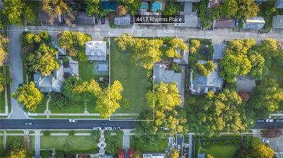 Highland Park Residential Lots & Land For Sale: 4417 Rheims Place