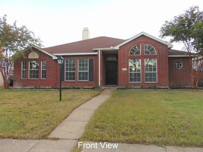 Rowlett Single Family Home For Sale: 8310 Meadowview Street