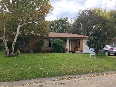 Cleburne Single Family Home For Sale: 701 Graham Street
