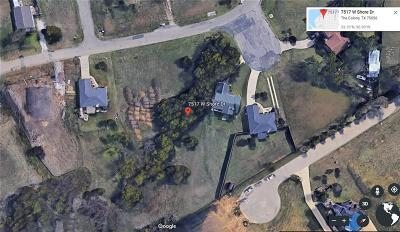 The Colony Residential Lots & Land For Sale: 7517 W Shore Drive