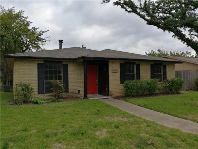 The Colony Single Family Home Active Option Contract: 5045 Thompson Drive