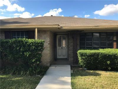 Richardson Single Family Home For Sale: 1621 University Drive