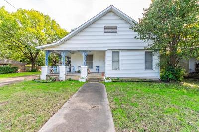 Grand Prairie Single Family Home For Sale: 119 North Street