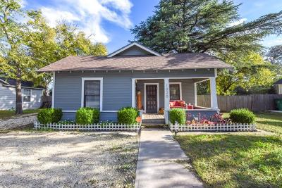 Stephenville Single Family Home Active Option Contract: 1020 W McNeill Street