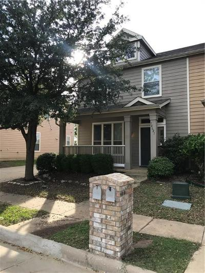 Fort Worth Townhouse For Sale: 10621 Traymore Drive