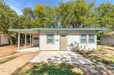 Fort Worth Single Family Home For Sale: 4440 Fletcher Avenue