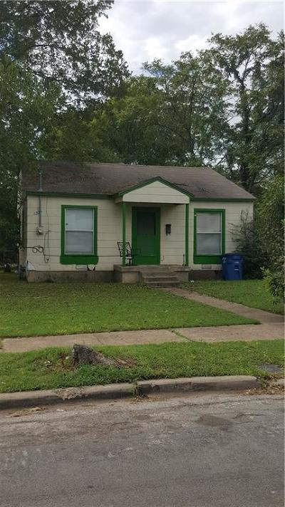 Dallas Single Family Home Active Option Contract: 2812 Canary Drive