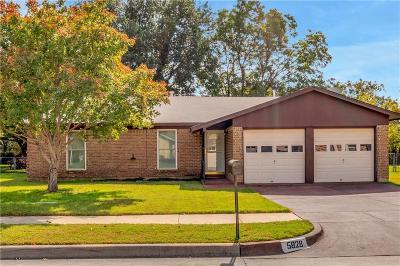 Watauga Single Family Home Active Option Contract: 5828 Rosalyn Drive