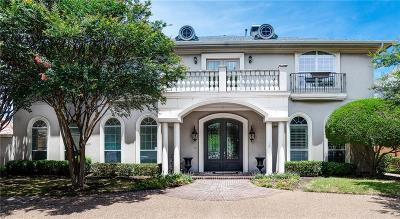 Plano Single Family Home Active Option Contract: 6613 Bermuda Dunes Drive