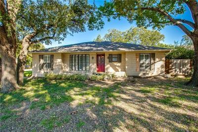 Dallas, Addison Single Family Home Active Option Contract: 3505 Royal Lane