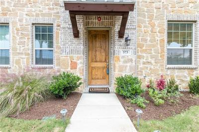 Dallas County, Denton County Townhouse For Sale: 573 W Royal Lane