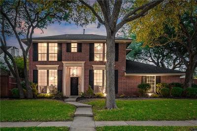 Plano Single Family Home Active Option Contract: 4649 Home Place