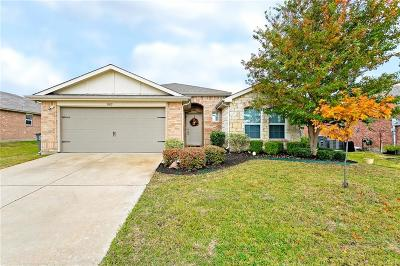Wylie Single Family Home Active Option Contract: 3005 Connor Lane
