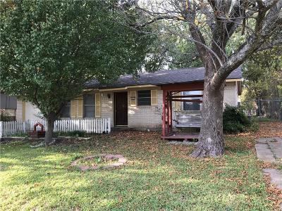 Sherman Single Family Home For Sale: 301 Iowa Street