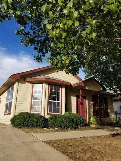 Denton Single Family Home Active Option Contract: 2921 Penniman Road