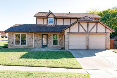 Euless Single Family Home Active Option Contract: 701 Creekside Drive