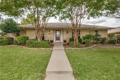 Plano Single Family Home Active Contingent: 2413 Parkhaven Drive