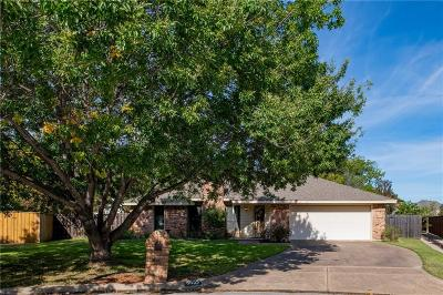 North Richland Hills Single Family Home For Sale: 8625 Crestview Drive