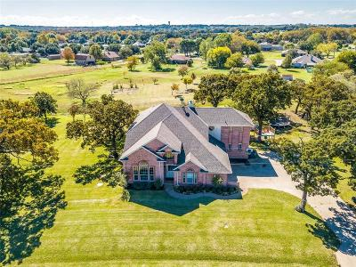 Burleson Single Family Home Active Contingent: 313 Cole Road