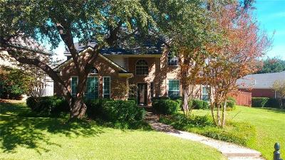 Carrollton Single Family Home Active Option Contract: 1211 Saint Tropez Drive