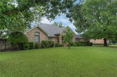 Benbrook Single Family Home Active Option Contract: 6628 Country Day Trail