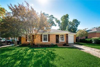 Dallas Single Family Home For Sale: 2818 Tolosa Drive