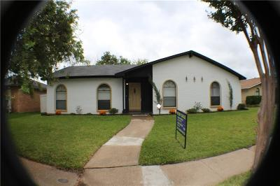 Dallas Single Family Home Active Contingent: 3026 San Diego Drive