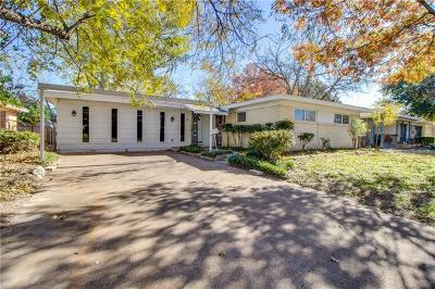 Irving Single Family Home Active Contingent: 1716 John Smith Drive