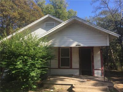 Dallas Single Family Home For Sale: 3010 Alabama Avenue