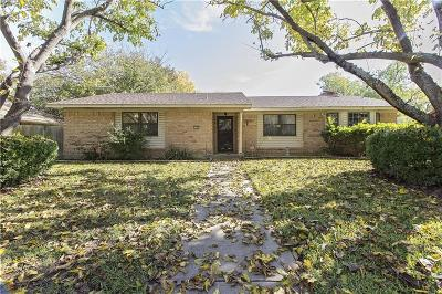 Sherman Single Family Home For Sale: 3209 Mimosa