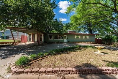Sherman Single Family Home For Sale: 513 W Easy Street