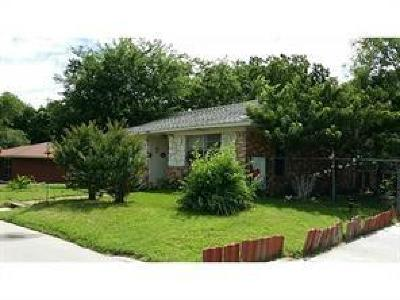 Terrell Single Family Home For Sale: 1300 S Rockwall Avenue