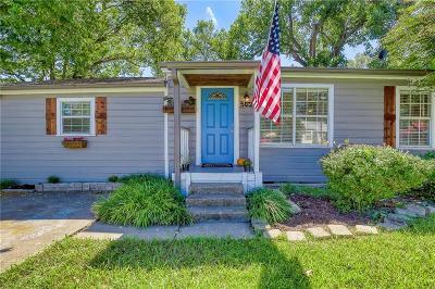 Wylie Single Family Home Active Option Contract: 502 E Oak Street