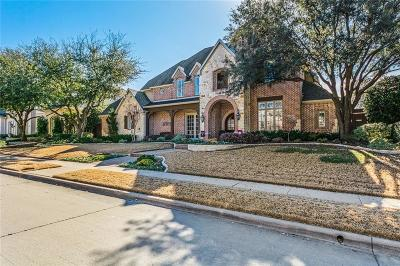 Plano Single Family Home Active Option Contract: 5124 Rain Forest Trail