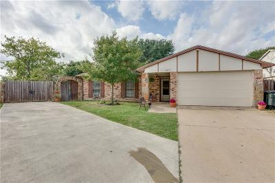 North Richland Hills Single Family Home Active Option Contract: 6457 Sudbury Way